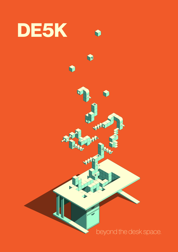 Concept idea for E5 Desk poster advert