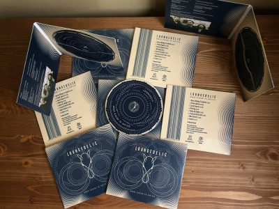 Horse Riding to Jupiter - printed CD cases