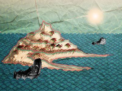 Landfill Island - postcard from the island of Phestonia