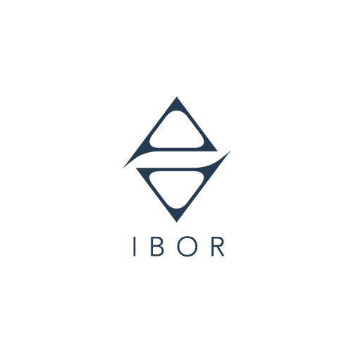 Logo for Ibor Yoga, yoga teacher in London, UK